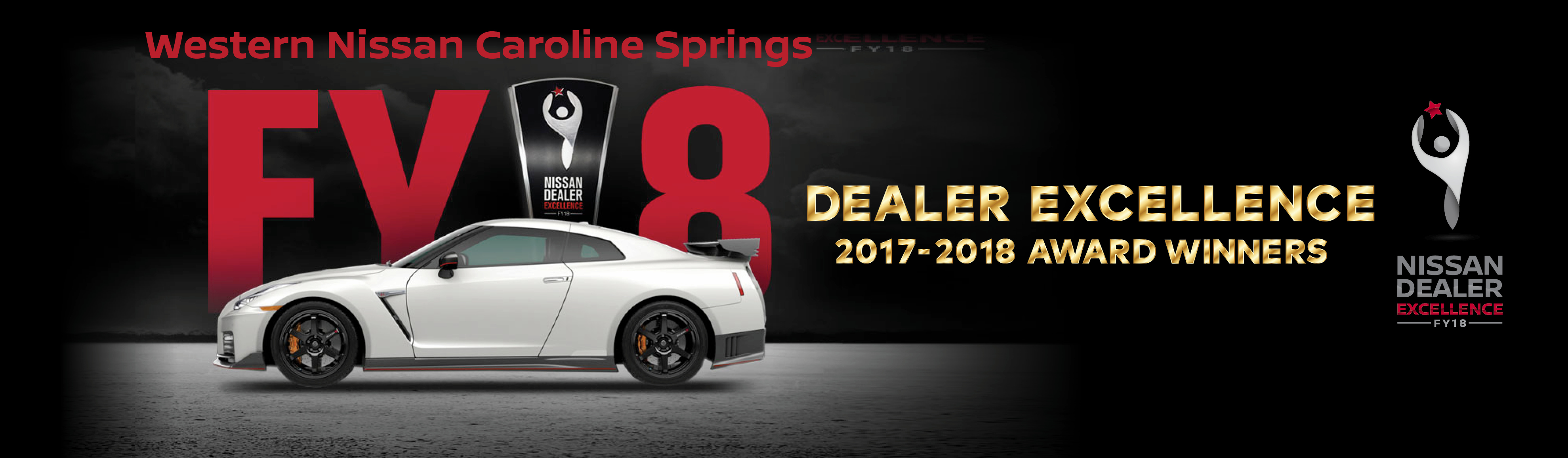 Nissan Dealer Excellence Award for 2017